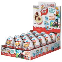 kinder joy available black chocolate with cookies sweet candy