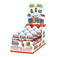 Kinder surprise candy chocolate biscuit egg
