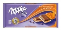 MILKA CARAMEL 100G CHOCOLATE