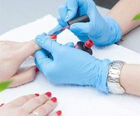 Blue Nitrile Gloves Examination Gloves Kitchen gloves