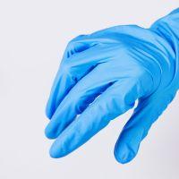 Disposable nitrile gloves for medical use