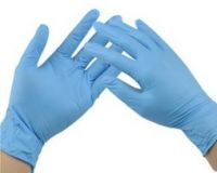 Blue Nitrile medical Gloves , Powder-free