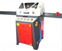 AUTOMATIC PROFILE CUTTING MACHINE WITH UNDER FEEDING SAW