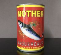 Canned Mackerel fish in oil or tomato sauce