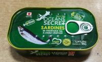 125g Canned Sardines In Vegetable Oil or Tomato Sauce