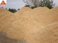 Oak wood pellets