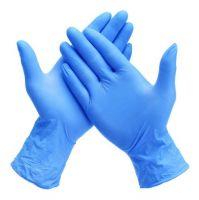 Disposable Medical Powder Free Household Examination Blue Nitrile