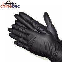 Nitrile Gloves Factory Hot Flower Print Polyester Liner Nitrile Coated Garden Gloves