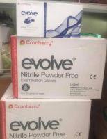 Cranberry Evolve Nitrile gloves