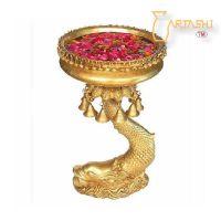 SELL Designer Bowl on Stand Brass