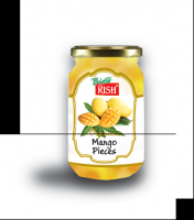 Organic Mango - bottled (cubed and bottled in syrup)