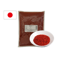Red Chilli Pepper (Medium Grated) Hot Pepper Powder Exports From Japan