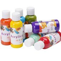 acrylic paint 24 colors water paint