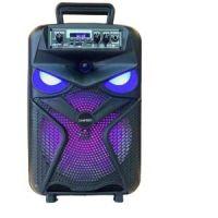 8 Inch Speaker Outdoor Portable Subwoofer Soundbox Wireless speaker With LED Light Microphone USB TF FM