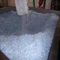 Clear PET bottle scrap PET flakes