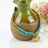 Handmade braided bracelet