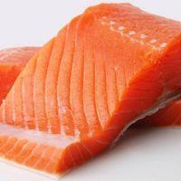 Frozen Atlantic Salmon fish