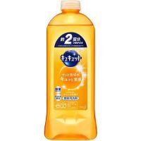 Kyukyutto dishwashing detergent Refill (385ml) Orange scent