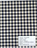 selling Cotton yarn dyed checks and stripes,