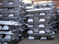 Pure Aluminum ingots 99.9%