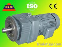 R Helical Gear Reducer Motor