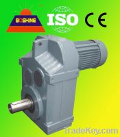 F Helical Geared Reducer Motor