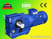 K Helical Bevel Gear Box Reducer Motor