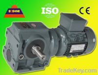 Helical Worm Gearbox Reducer Motor (S series)