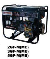 Sell 2kw, diesel generator, electric start, hand start,with battery