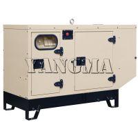Sell water cooled silent power electric diesel generator set(cummins)