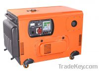 2/3/5/6KW air cooled electric soundproof silent diesel generator