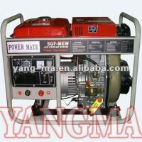 Sell air cooled 5kw, 6kw, silent diesel gnerator, 2kw-12kw