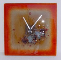 Sell Handmade Clock from fused glass