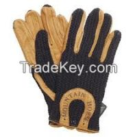 Horse Riding leather gloves