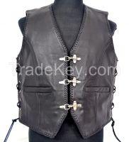 New Style Biker Leather vest