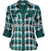 women textile shirt