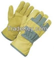 LEATHER SAFETY GLOVES/INDUSTRIAL GLOVES