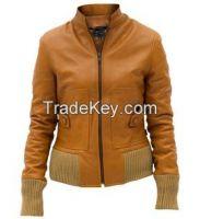 women leather jackets/custom women leather jackets