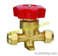 Sell refrigeration flare type hand valve, shut off valve