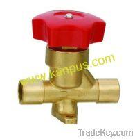 Sell Refrigeration solder type hand valve, shut off valve