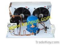 Sell Refrigeration hermetic Condensing unit with Maneurop compressor