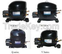 Refrigerator compressor, freezer compressor