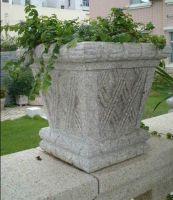 Sell flower pot-Granite