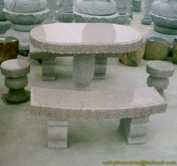 Sell Stone table, stone chair
