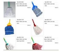 Sell cotton yarn mop etc