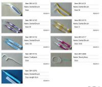 Sell  dental brush, dental floss, toothpick etc