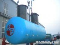 Sell Steel Reinforced Fiberglass Oil Tank (Twin Layer)