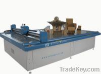 Sell carton box sample maker cutting machine