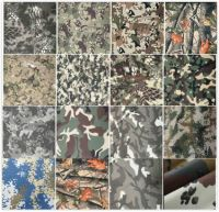 supplier of Military Camouflage fabric IRR  water resistant fire retardant finishing