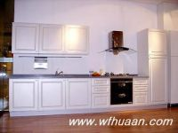 Sell PVC kitchen cabinet, MFC kitchen cabinet